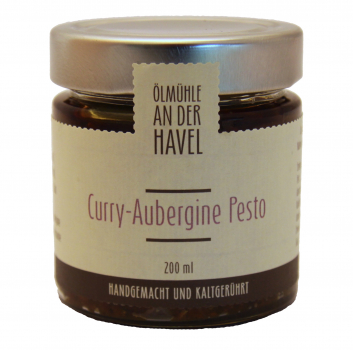 Curry Aubergine Pesto 200ml